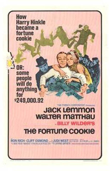 The Fortune Cookie Movie Poster (11 x 17) - Item # MOV203831