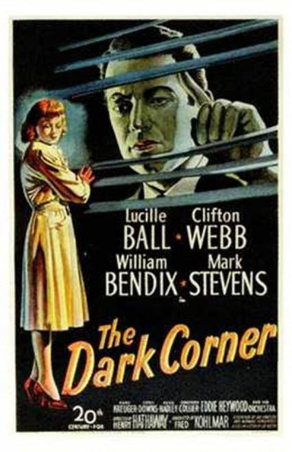 The Dark Corner Movie Poster (11 x 17) - Item # MOV202615