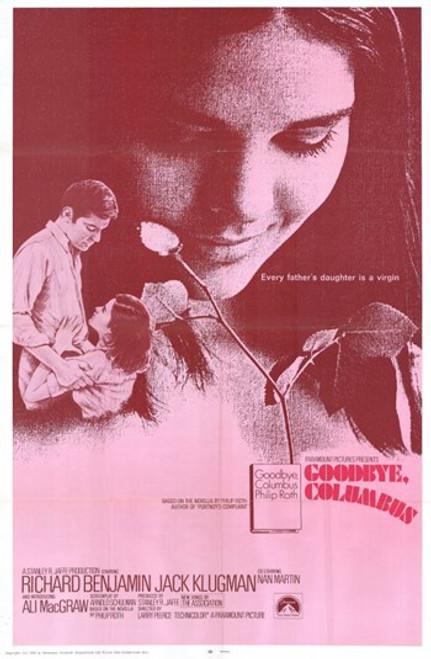 Goodbye Columbus Movie Poster (11 x 17) - Item # MOV216534