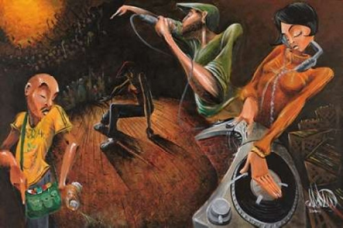 JAZZ ART PRINT Mr Brass David Garibaldi