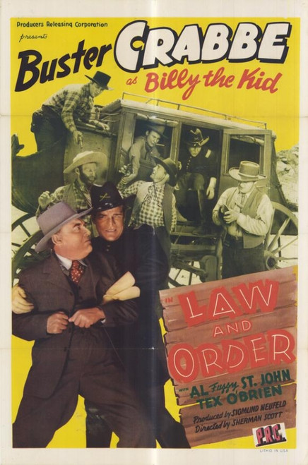 Law and Order Movie Poster Print (27 x 40) - Item # MOVAF8850