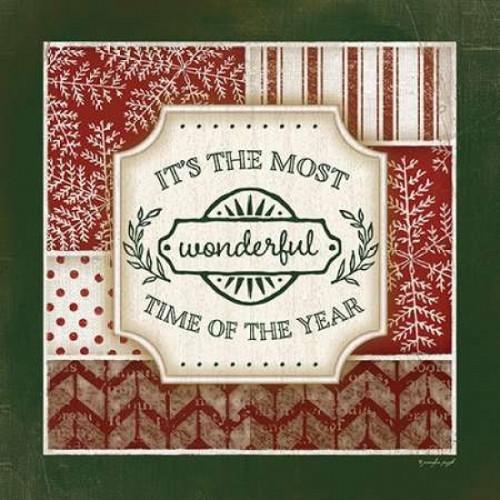 Wonderful Time of the Year Poster Print by Jennifer Pugh - Item # VARPDXJP4254