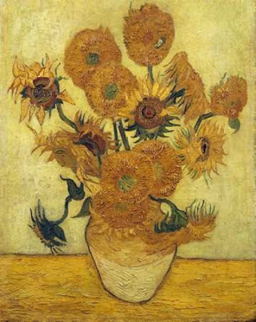 Vase with Fifteen Sunflowers 1889 Poster Print by  Vincent Van Gogh - Item # VARPDX265749