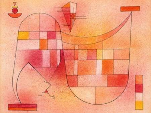Yellow Pink Poster Print by Wassily Kandinsky - Item # VARPDX3WK2627