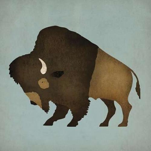 Buffalo Bison II Poster Print by Ryan Fowler - Item # VARPDX18860