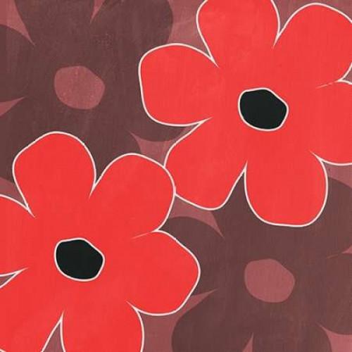 Big Flowers II Poster Print by Linda Woods - Item # VARPDXLW2326