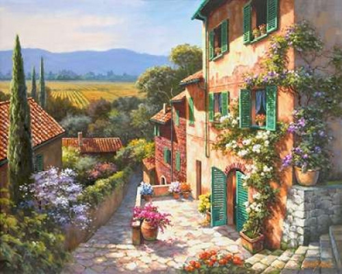 Spring in the Valley Poster Print by Sung Kim - Item # VARPDXK2426D
