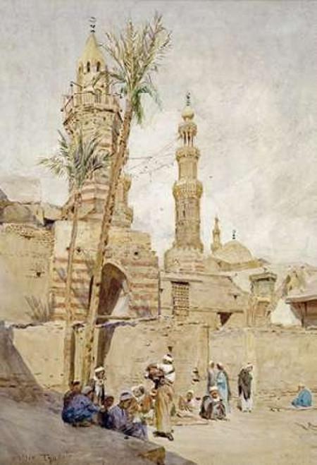 An Arab Street Scene, Cairo Poster Print by  Walter Tyndale - Item # VARPDX268609