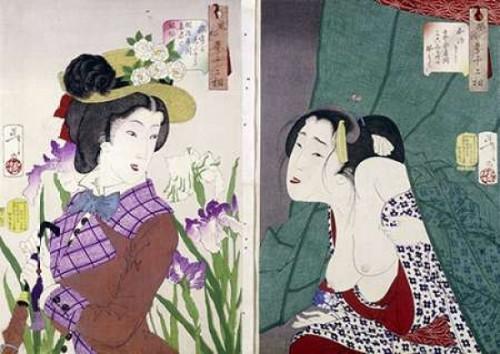 Strolling Poster Print by  Tsukioka Yoshitoshi - Item # VARPDX265823