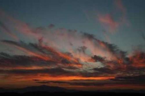 Cloudy Sunset I Poster Print by Erin Berzel - Item # VARPDXPSBZL371