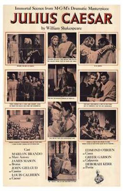 Julius Caesar Movie Poster (11 x 17) - Item # MOV195553