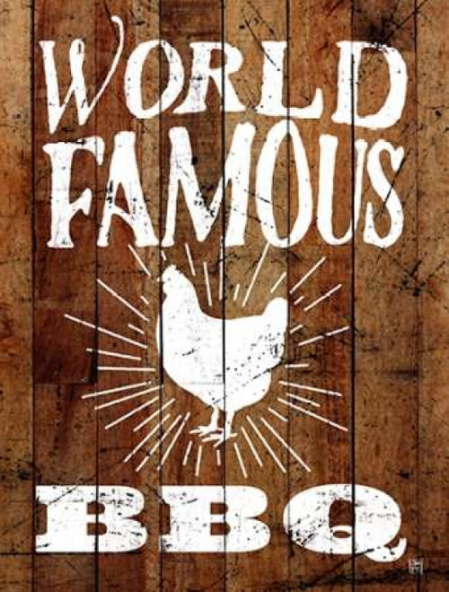World Famous BBQ Poster Print by  Aubree Perrenoud - Item # VARPDXAU1191