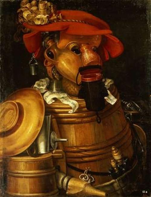 The Waiter: Winemaking Poster Print by  Giuseppe Arcimboldo - Item # VARPDX264568