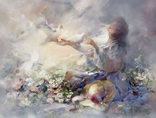 Romantic reflections Poster Print by Willem Haenraets - Item # VARPDXWHLE63