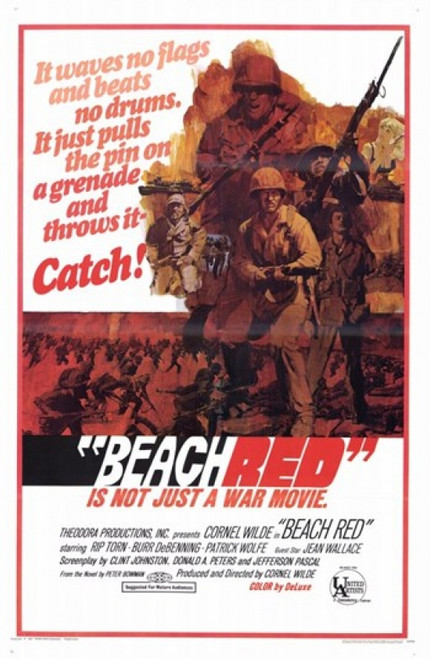 Beach Red Movie Poster (11 x 17) - Item # MOV209169
