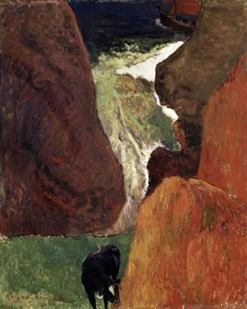 Above the Abyss Au Dessus du Gouffre Poster Print by  Paul Gauguin - Item # VARPDX277621