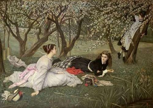 Spring. Le Printemps Poster Print by  James Jacques Tissot - Item # VARPDX268593