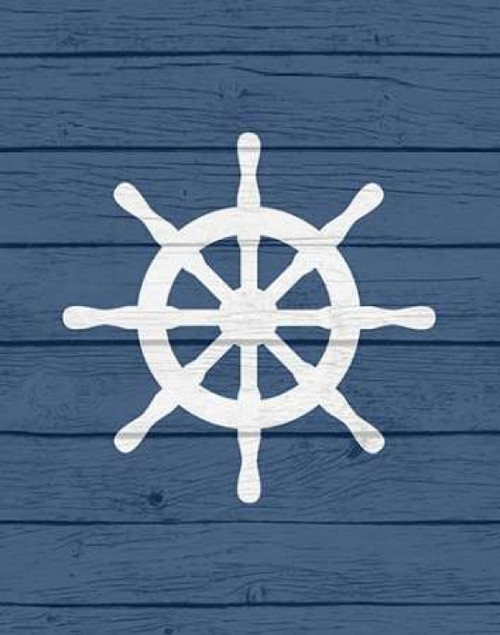 Nautical Wheel Poster Print by  Tamara Robinson - Item # VARPDXTR1405