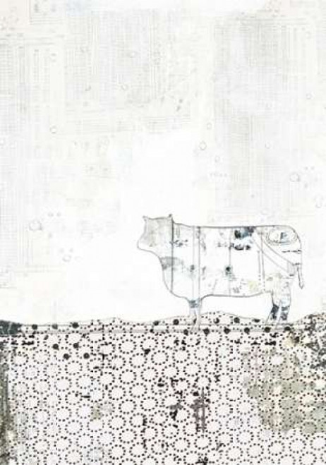 Neutral Cow Poster Print by  Sarah Ogren - Item # VARPDXSO1314