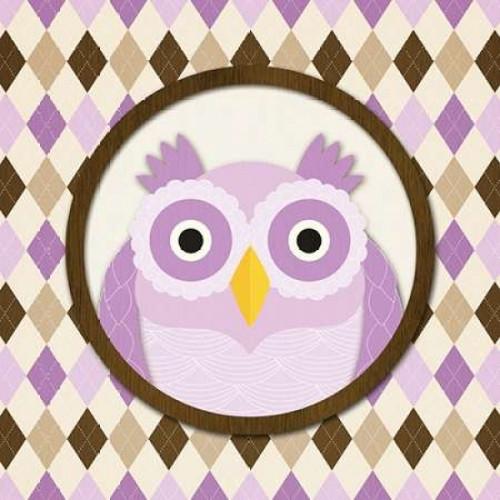 O is for Owl IV Poster Print by N Harbick - Item # VARPDXHRB095