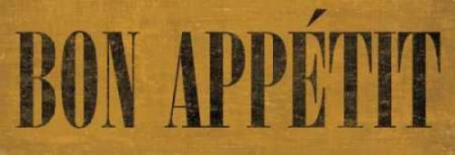 Bon Appetit IV Poster Print by N Harbick - Item # VARPDXHRB059