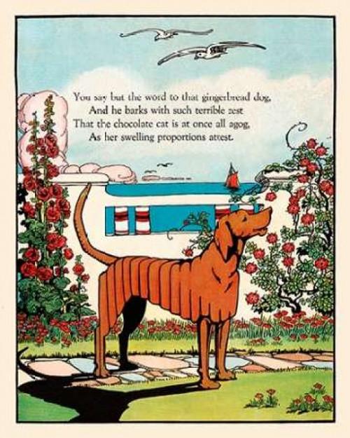 Gingerbread Dog Poster Print by  Eugene Field - Item # VARPDX375081