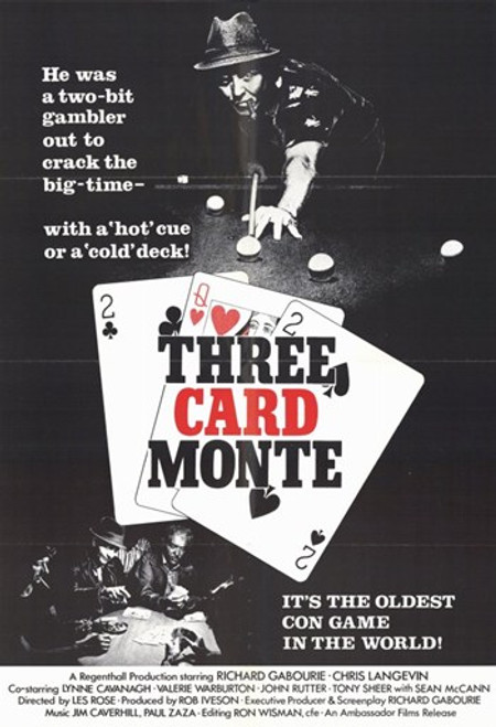 Three Card Monte Movie Poster (11 x 17) - Item # MOV248640