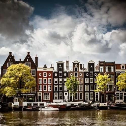 Amsterdam Canal II Poster Print by Erin Berzel - Item # VARPDXPSBZL948