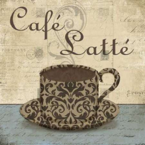 Cafe Latte Poster Print by Todd Williams - Item # VARPDXTWM093