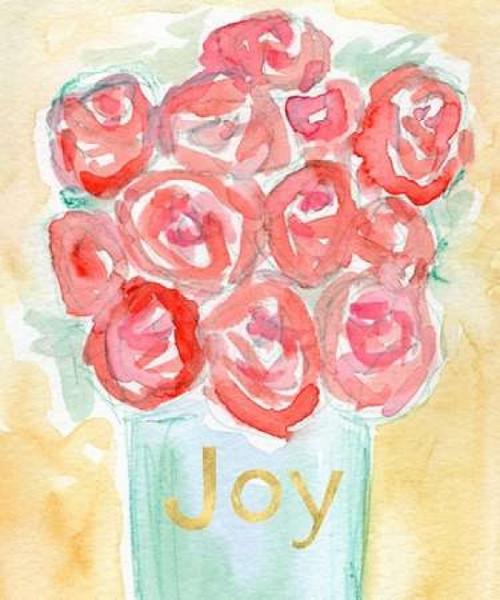 Roses Joy Poster Print by  Linda Woods - Item # VARPDXLW2977