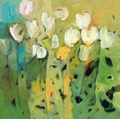 White tulips II Poster Print by Jennifer Harwood - Item # VARPDXHJP106