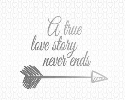 A True Love Story Poster Print by Tara Moss - Item # VARPDXTA1037