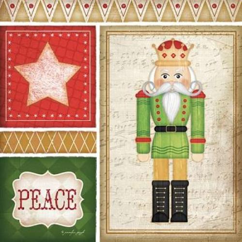 Nutcracker Peace Poster Print by Jennifer Pugh - Item # VARPDXJP4300