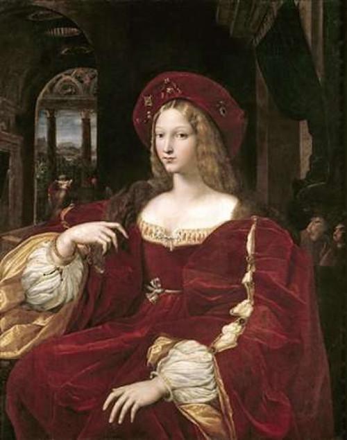 Portrait of Joanna of Aragon Poster Print by Raphael - Item # VARPDX279531