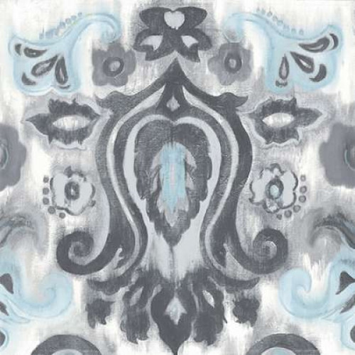 Gray Transitions with Border I Poster Print by Patricia Pinto - Item # VARPDX8596Y