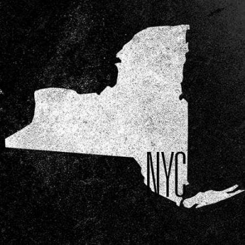 NY Chalk Border Poster Print by  Sundance Studio - Item # VARPDX9580AA