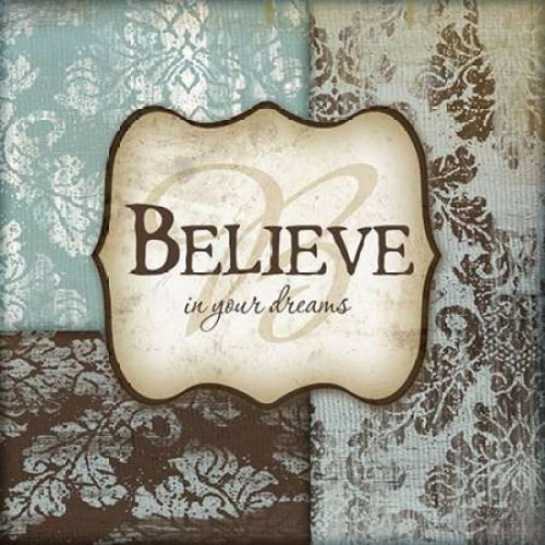 Believe Poster Print by Jennifer Pugh - Item # VARPDXJP2100