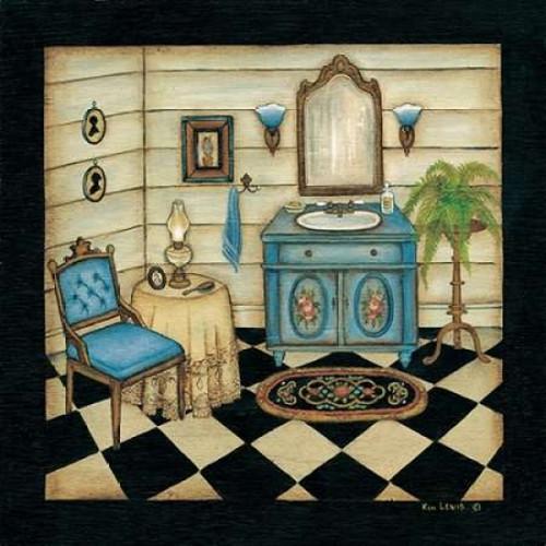 Blue Sink Poster Print by Kim Lewis - Item # VARPDXKL058