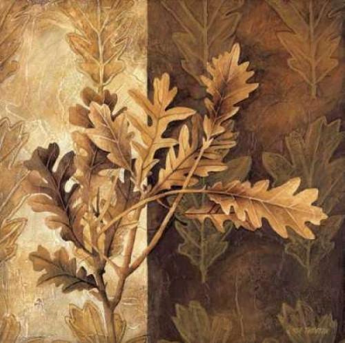 Leaf Patterns I Poster Print by Linda Thompson - Item # VARPDX5368