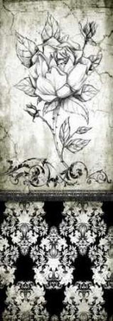 Rose Vintage II B Poster Print by Susan P. Willow - Item # VARPDXSPW012