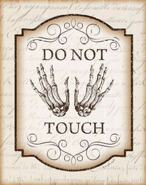 Do Not Touch Poster Print by  Jennifer Pugh - Item # VARPDXJP4947