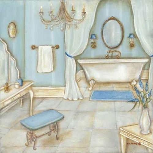 Blue Tub Poster Print by Kim Lewis - Item # VARPDXKL1803
