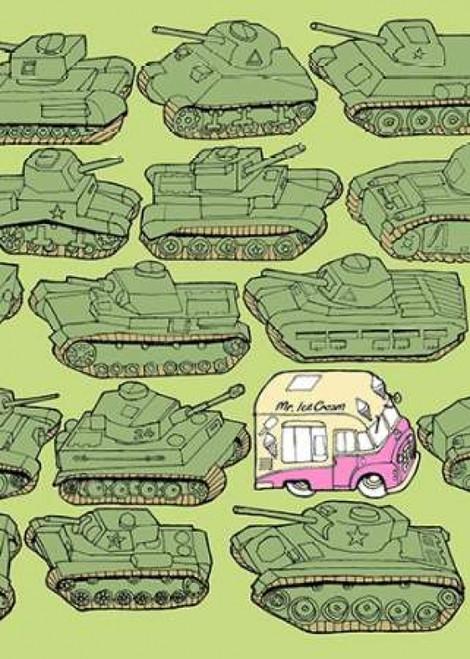 Odd Ones - Ice Cream Poster Print by Duncan Wilson - Item # VARPDXW595D