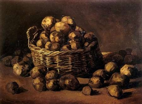 Basket Of Potatoes Poster Print by  Vincent Van Gogh - Item # VARPDX374608