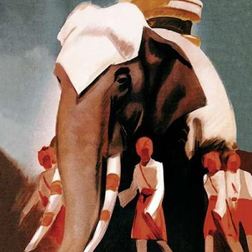 Lloyd Triestino Espresso Itali India Poster Print by Vintage Elephant - Item # VARPDX379192