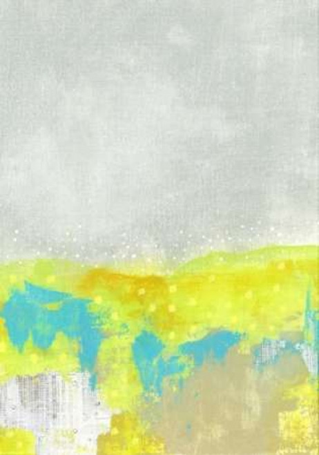 Yellow Flowers Abstract Poster Print by  Sarah Ogren - Item # VARPDXSO1306