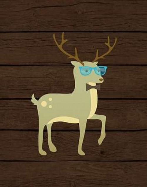 Hipster Deer Poster Print by  Tamara Robinson - Item # VARPDXTR1482