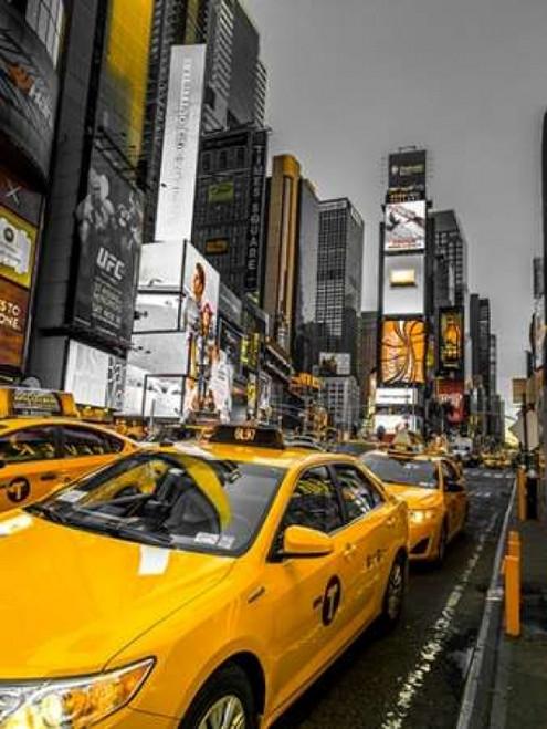 Cabs on Broadway, Times square, New York Poster Print by  Assaf Frank - Item # VARPDXAF20131115008C01