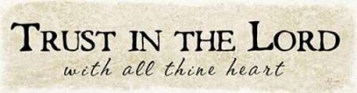 Trust in the Lord Poster Print by Jennifer Pugh - Item # VARPDXJP1550