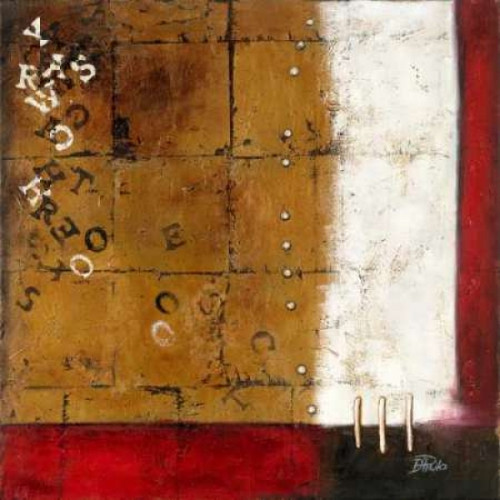Red Contemporary III Poster Print by Patricia Pinto - Item # VARPDX5975
